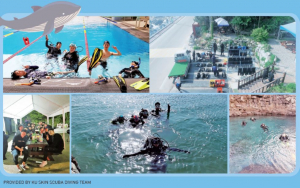 A Perfect Coexistence of Relaxation and Expedition - KU Skin Scuba Diving Team